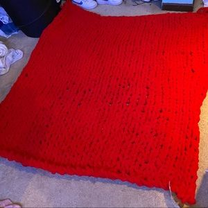 Hand tied blanket